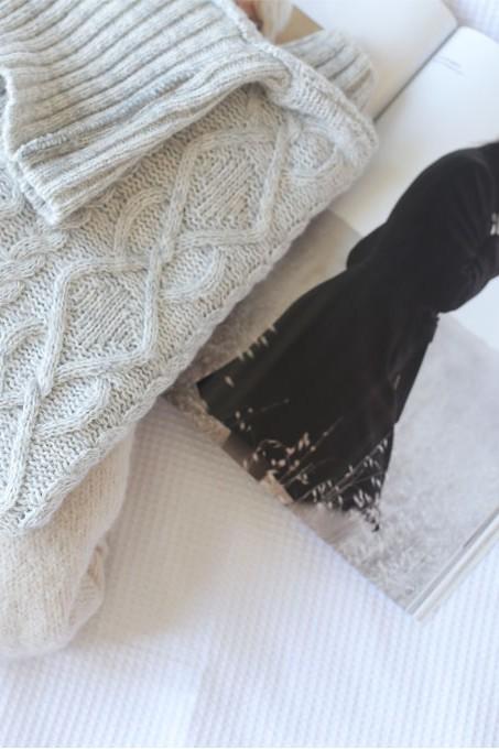 elle australia, asos, knit jumper, Melbourne winter style